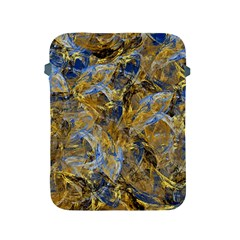 Antique Anciently Gold Blue Vintage Design Apple Ipad 2/3/4 Protective Soft Cases by designworld65