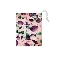 Spiral Eucalyptus Leaves Drawstring Pouches (small)