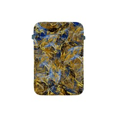 Antique Anciently Gold Blue Vintage Design Apple Ipad Mini Protective Soft Cases by designworld65