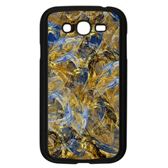 Antique Anciently Gold Blue Vintage Design Samsung Galaxy Grand Duos I9082 Case (black) by designworld65