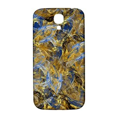 Antique Anciently Gold Blue Vintage Design Samsung Galaxy S4 I9500/i9505  Hardshell Back Case by designworld65