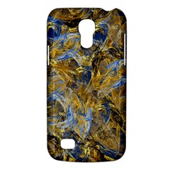Antique Anciently Gold Blue Vintage Design Galaxy S4 Mini by designworld65