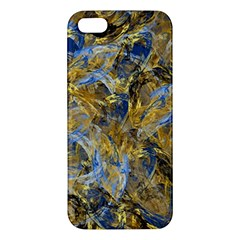 Antique Anciently Gold Blue Vintage Design Iphone 5s/ Se Premium Hardshell Case