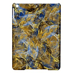 Antique Anciently Gold Blue Vintage Design Ipad Air Hardshell Cases by designworld65