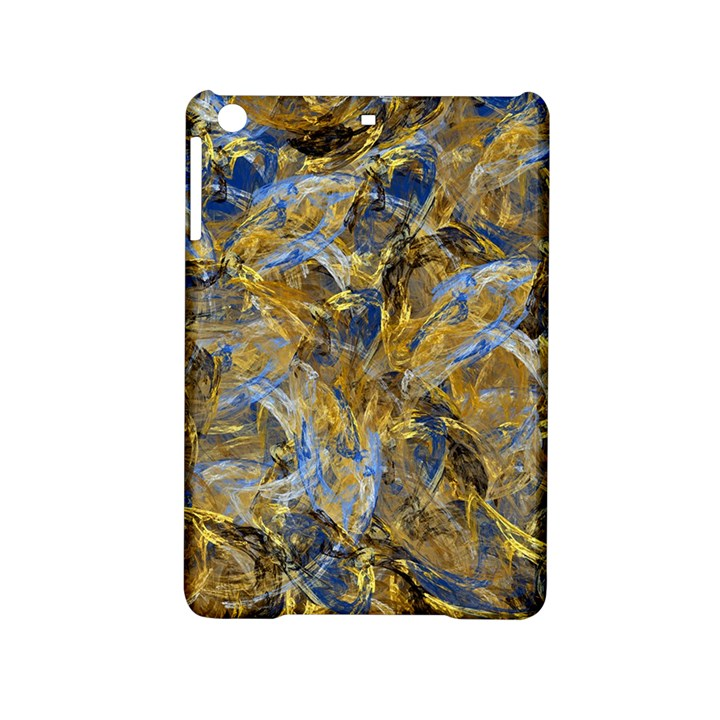 Antique Anciently Gold Blue Vintage Design iPad Mini 2 Hardshell Cases