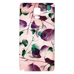Spiral Eucalyptus Leaves Galaxy Note 4 Back Case by DanaeStudio