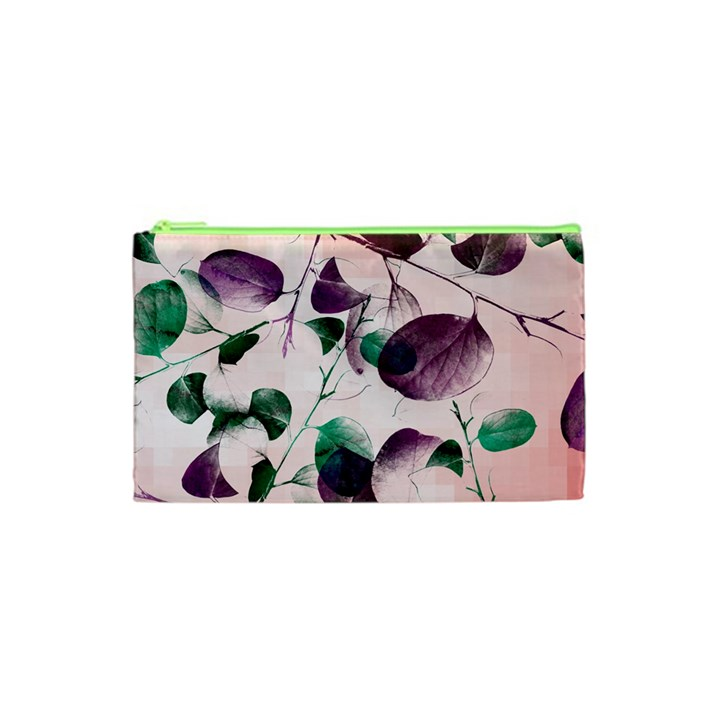 Spiral Eucalyptus Leaves Cosmetic Bag (XS)