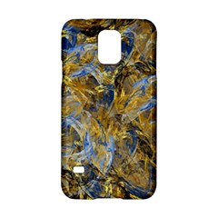 Antique Anciently Gold Blue Vintage Design Samsung Galaxy S5 Hardshell Case  by designworld65