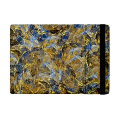 Antique Anciently Gold Blue Vintage Design Ipad Mini 2 Flip Cases by designworld65