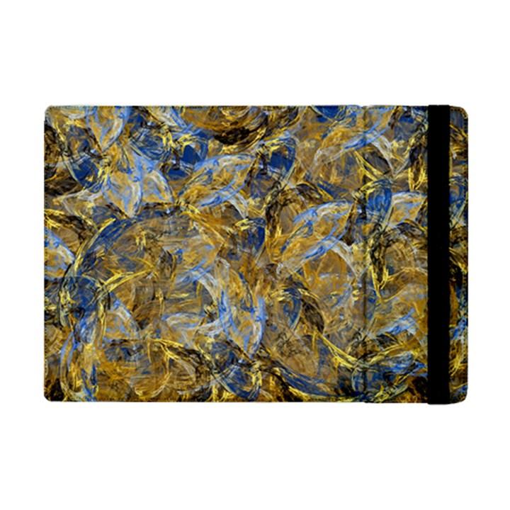 Antique Anciently Gold Blue Vintage Design iPad Mini 2 Flip Cases