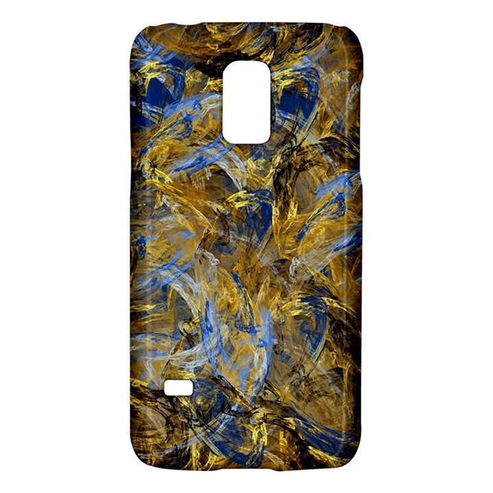 Antique Anciently Gold Blue Vintage Design Galaxy S5 Mini