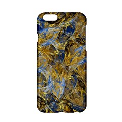Antique Anciently Gold Blue Vintage Design Apple Iphone 6/6s Hardshell Case by designworld65