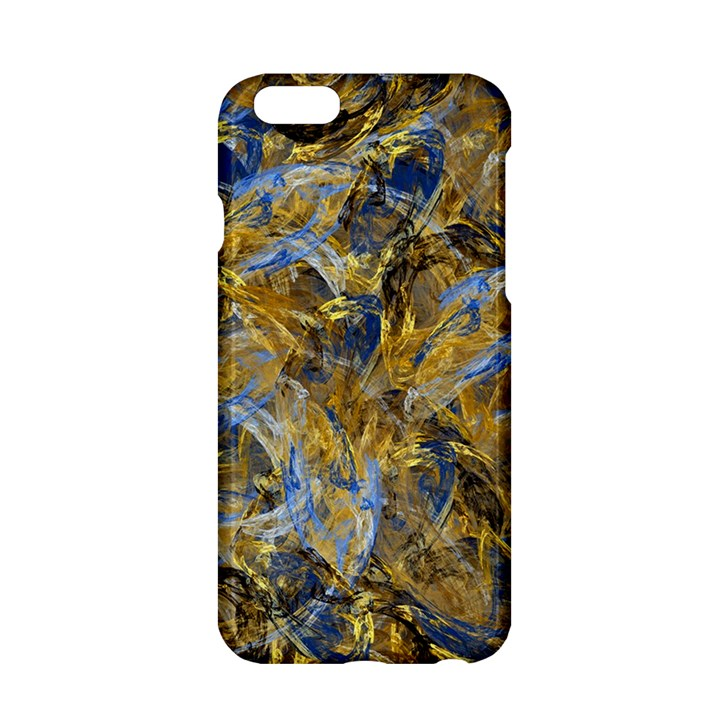 Antique Anciently Gold Blue Vintage Design Apple iPhone 6/6S Hardshell Case