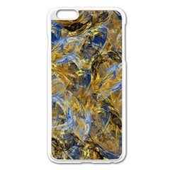 Antique Anciently Gold Blue Vintage Design Apple Iphone 6 Plus/6s Plus Enamel White Case by designworld65