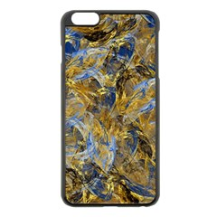 Antique Anciently Gold Blue Vintage Design Apple Iphone 6 Plus/6s Plus Black Enamel Case by designworld65