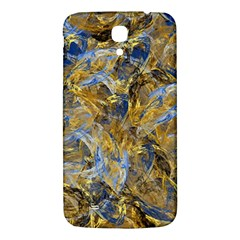 Antique Anciently Gold Blue Vintage Design Samsung Galaxy Mega I9200 Hardshell Back Case by designworld65