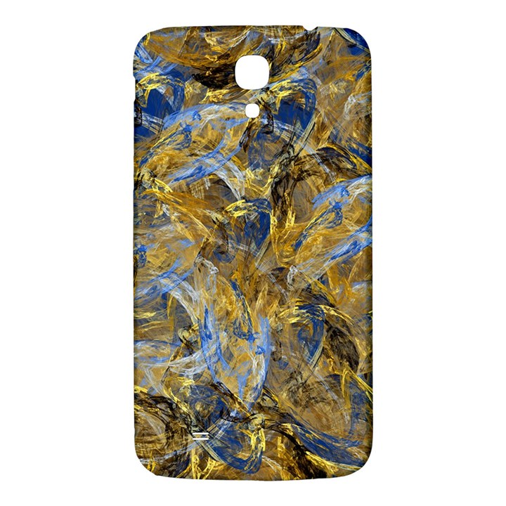 Antique Anciently Gold Blue Vintage Design Samsung Galaxy Mega I9200 Hardshell Back Case