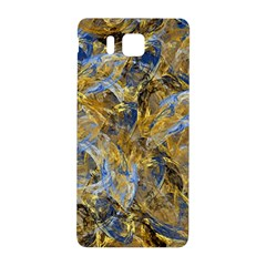 Antique Anciently Gold Blue Vintage Design Samsung Galaxy Alpha Hardshell Back Case by designworld65