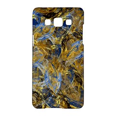 Antique Anciently Gold Blue Vintage Design Samsung Galaxy A5 Hardshell Case  by designworld65