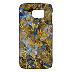 Antique Anciently Gold Blue Vintage Design Galaxy S6 by designworld65