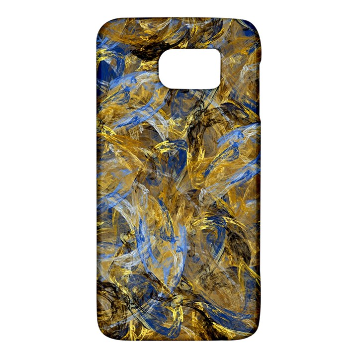 Antique Anciently Gold Blue Vintage Design Galaxy S6