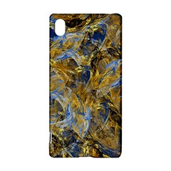 Antique Anciently Gold Blue Vintage Design Sony Xperia Z3+ by designworld65