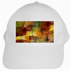 Indian Summer Funny Check White Cap