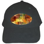 Indian Summer Funny Check Black Cap