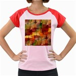 Indian Summer Funny Check Women s Cap Sleeve T-Shirt