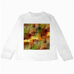 Indian Summer Funny Check Kids Long Sleeve T Shirts