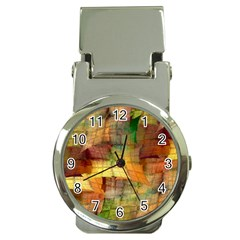 Indian Summer Funny Check Money Clip Watches by designworld65