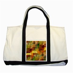 Indian Summer Funny Check Two Tone Tote Bag by designworld65