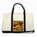 Indian Summer Funny Check Two Tone Tote Bag