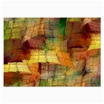 Indian Summer Funny Check Large Glasses Cloth