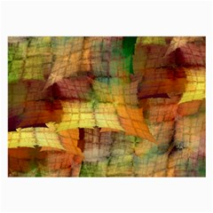 Indian Summer Funny Check Large Glasses Cloth (2 Side)