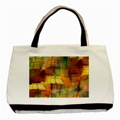 Indian Summer Funny Check Basic Tote Bag (two Sides) by designworld65