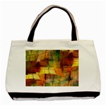 Indian Summer Funny Check Basic Tote Bag (Two Sides)