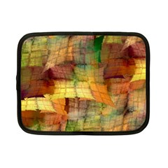 Indian Summer Funny Check Netbook Case (small)  by designworld65