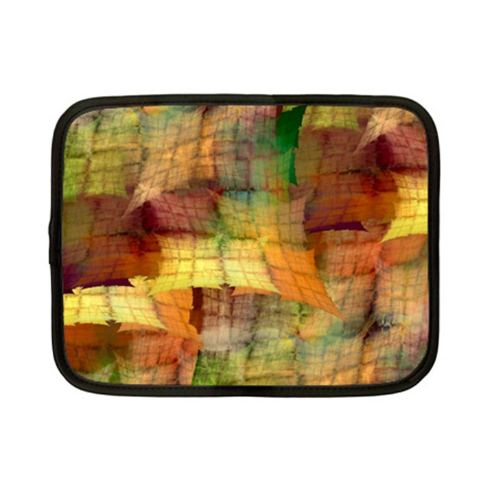 Indian Summer Funny Check Netbook Case (Small)