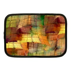 Indian Summer Funny Check Netbook Case (medium)  by designworld65