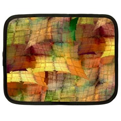 Indian Summer Funny Check Netbook Case (large) by designworld65