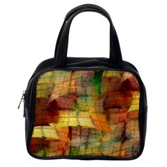 Indian Summer Funny Check Classic Handbags (one Side) by designworld65