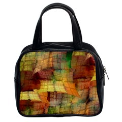 Indian Summer Funny Check Classic Handbags (2 Sides) by designworld65