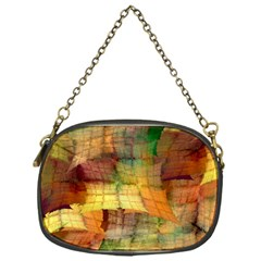 Indian Summer Funny Check Chain Purses (one Side)  by designworld65