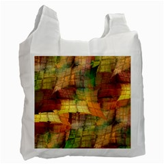 Indian Summer Funny Check Recycle Bag (one Side) by designworld65