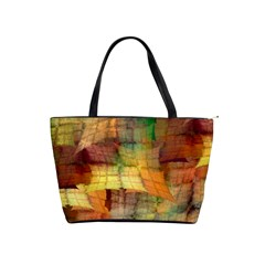 Indian Summer Funny Check Shoulder Handbags by designworld65