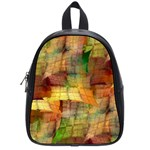 Indian Summer Funny Check School Bags (Small)  Front