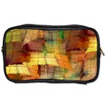 Indian Summer Funny Check Toiletries Bags 2-Side