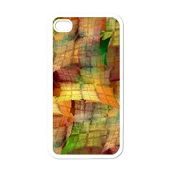 Indian Summer Funny Check Apple Iphone 4 Case (white) by designworld65