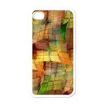 Indian Summer Funny Check Apple iPhone 4 Case (White) Front